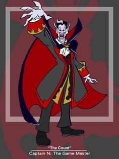 Captain N: The Count by kevinbolk on DeviantArt
