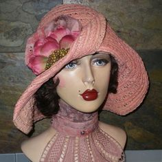 vintage inspired hats, Graceful Butterfly Chicago, IL HATS I