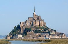 Mont Saint Michel, France - Mary and I made it to the top!  Excellent.