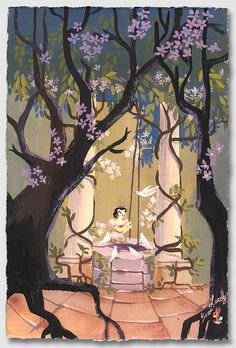 """I'm Wishing"" by Lorelay Bove | Disney Fine Art | Disney's Snow White and the Seven Dwarfs"