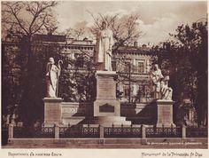 The Monument of princess Olga. Kyiv, 1910's years. Пам'ятник княгині Ользі. Київ, 1910 роки.