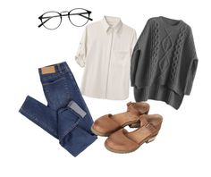 """""""Untitled #5"""" by boshoffanina on Polyvore featuring rag & bone, Cheap Monday and Topshop"""