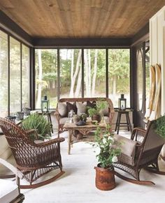 bungalow cottage decorating | Summer Home Decorating Ideas Inspired by Rustic Simplicity of Canadian ...