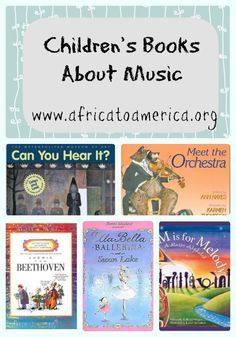 Children's Music Books - books about all different types of music, composers and history!