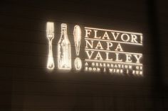 Wine Country in the Winter..a great time to visit and check out Flavor Napa Valley.