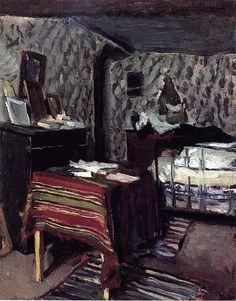 The Artist's Room, rue Lavin, Maximilien Luce - Maximilien Luce — Wikipédia