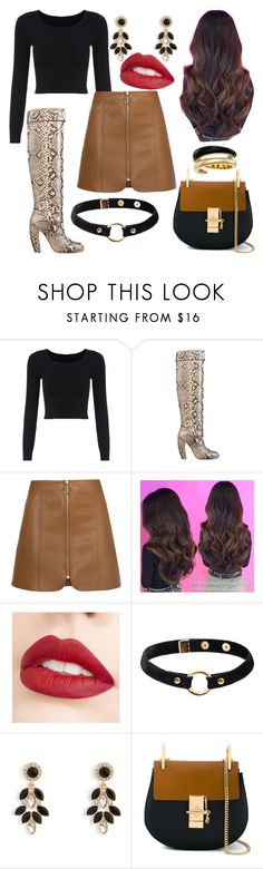 """""""Untitled #974"""" by princesslamisah ❤ liked on Polyvore featuring Jouer, Nika, Vera Bradley, Chloé and Michael Kors"""