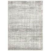 Found it at Temple & Webster - Parishan Silver & Grey Power Loomed Modern Rug