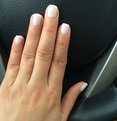 OPI Gel Color - Funny Bunny. My favorite color to wear, so nice! ...kt