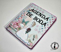 Agenda de Boda http://cinderellatmidnight.com/2014/03/06/wedding-fever-las-agendas-para-boda-de-cinderella/