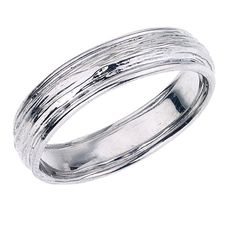 A top pick for Linda---Mens Wedding Band    Tree Branch with Rounded Polished by bmjnyc, $1290.00