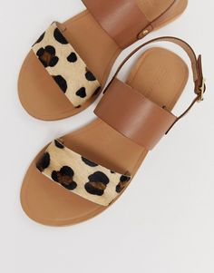 58f22fcaf5b4d4 13 Best leather sandals flat