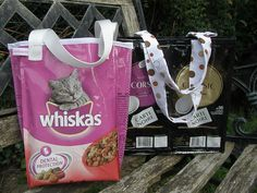 recyclage de paquet de paquets de café etc en super sac !