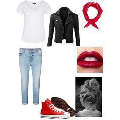 Greaser Girl Outfit Ideas Collection gallery for girl greaser outfit from the outsiders in 2019 Greaser Girl Outfit Ideas. Here is Greaser Girl Outfit Ideas Collection for you. Greaser Girl Outfit Ideas greasers vs socs greaser outfit the outside. Rockabilly Outfits, Outfits 80s, Throwback Outfits, Mode Rockabilly, Rockabilly Fashion, Girl Outfits, Cute Outfits, Sock Hop Outfits, Biker Outfits