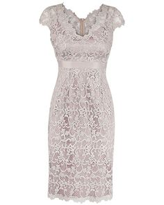 Anthea Crawford GLIMMER ALL OVER LACE DRESS