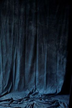 Velvet wall hangings | dark blue velvet is our latest fabric obsession | Get the look with Bemz