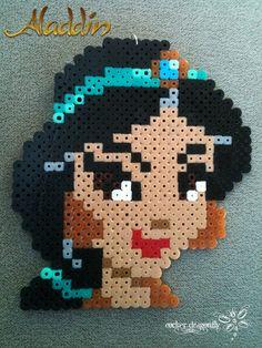 Disney Princess Jasmine perler beads by RockerDragonfly on deviantART