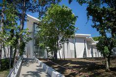 A május 20-án megnyíló  új pécsi állatkert főépülete