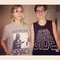 Carlson Young and Bex Taylor-Klaus