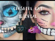 Cheshire Cat Character & Beauty Makeup Tutorial | Halloween | Samantha Jaymes - YouTube