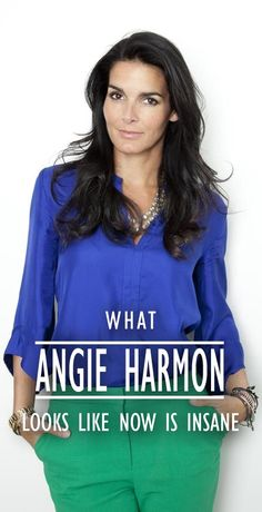What Angie Harmon Looks Like Now is Insane
