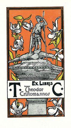 Ex libris Theodor Cristomannos