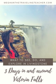 3 Days at Victoria Falls [Livingstone, Zambia] – Best views of Victoria Falls, Angel's pool/Devil's pool, safaris, and more!