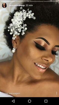 Make-up Braut natürliche Kopfbedeckungen 63 Trendy Ideas - Natural Makeup Bridal Bridal Makeup Looks, Pretty Makeup, Bridal Looks, Bridal Make Up, Wedding Makeup, Bridal Headpieces, Bridal Hair, Sexy Make-up, Make Up Braut