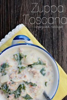 Olive Garden Zuppa Toscana Copycat Crockpot Recipe