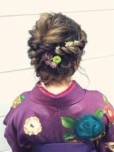 成人式はこの髪型出決まり♡絶対可愛い振袖に合うヘアスタイルカタログ! - Yahoo! BEAUTY