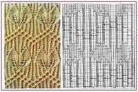 Gallery.ru / 63 - Образцы и схемы узоров спицами (часть 1 - восточные) - HelenaKovgan