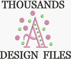 Machine Embroidery Designs FREE Font Brother Formats CD PES HUS JEF