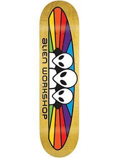 """ALIEN WORKSHOP Skateboard Deck SPECTRUM SM 7.875"""" (assorted colors) ❤ Alien Workshop"""
