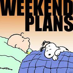 Weekend Plans with Charlie Brown & Snoopy