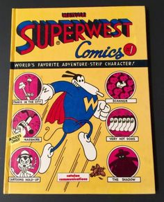 Superwest-by-Massimo-Mattioli-1987-Hardcover-1st-Edition