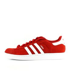 more photos 8e172 98fdb Adidas Originals Campus 2 Men s Running Shoes Red White Size 13