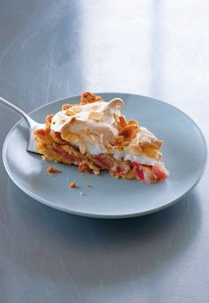 Miriams Rhabarber-Baiser-Pie - Rezepte aus Skandinavien: 5 Ideen