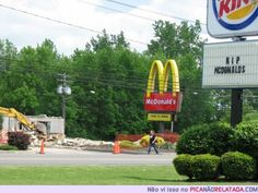 RIP McDonald's