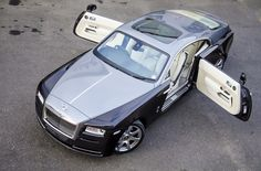 Rolls-Royce Wraith...the proper way to have a door held open for you!!!!