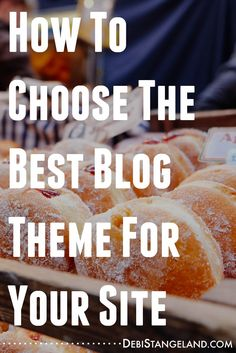 Choosing the best blog theme for your site can make a huge difference in your success. Learn how to make the best choice for your blog with a blog theme that will give you the powerful elements you need now and into the future. #EquippingBloggers