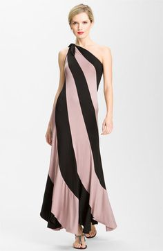 Trina Turk 'Rowena' One-Shoulder Maxi Dress available at #Nordstrom