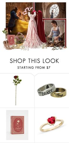 """Princess: Beauty and the Beast"" by lanamare ❤ liked on Polyvore featuring beauty, Emma Watson, Disney, Torrid, Ice, Lenox, Fantasia and Vionnet"