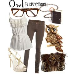 Owl, created by lalakay.polyvore.com