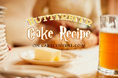 Butterbeer Cake Recipe - Recipes - Cake Central
