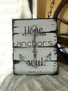 Hey, I found this really awesome Etsy listing at https://www.etsy.com/listing/292156865/hope-anchors-the-soul-grey-and-black