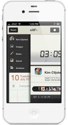 eXFx Mobile App by Rovane Durso