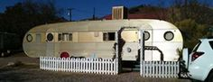 The Shady Dell is an RV Park in the historic town of Bisbee in southern Arizona. The place is a far cry from your ordinary RV Park though, as it is a throwback to the 1940s and 50s with vintage trailers, a 50s era diner, an old bus and even