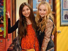 Riley Matthews & Maya Hart | Girl Meets World | Riley: me :) - Maya: Sabrina Carpenter