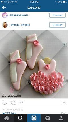 How to decorate ballerina cookies!