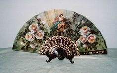 Spanish Hand Fans Without Lace, Abanicos Without Lace